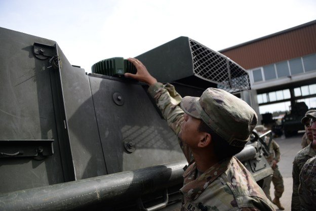 General Dynamics Mission Systems has installed a new and improved GPS system onto U.S. military vehicles in Germany that allows U.S. forces to operate in a degraded or denied GPS environment. The system could eventually be installed on thousands of vehicles across Europe.