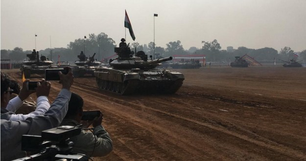Indra 2019 Russian-Indian Joint Exercise Kicks Off in India