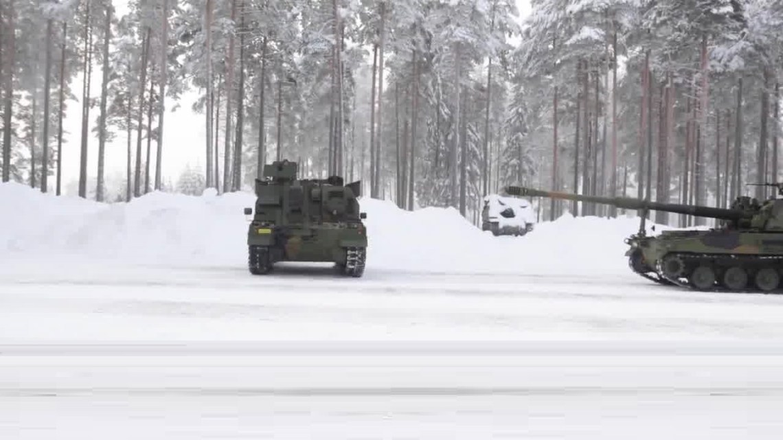 Norway  K10 automatic ammunition resupply vehicle