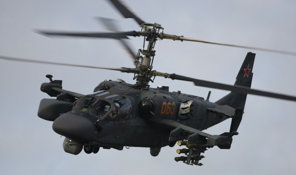 Russian Нelicopters Ka-52M Alligator Attack Helicopter
