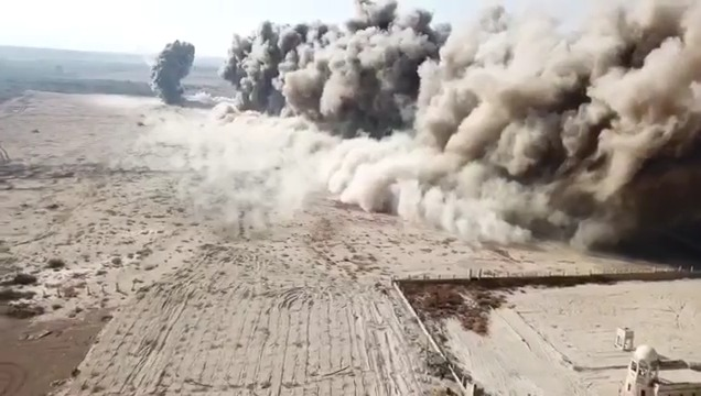 Landmines Detonated in Qasr al Yahud