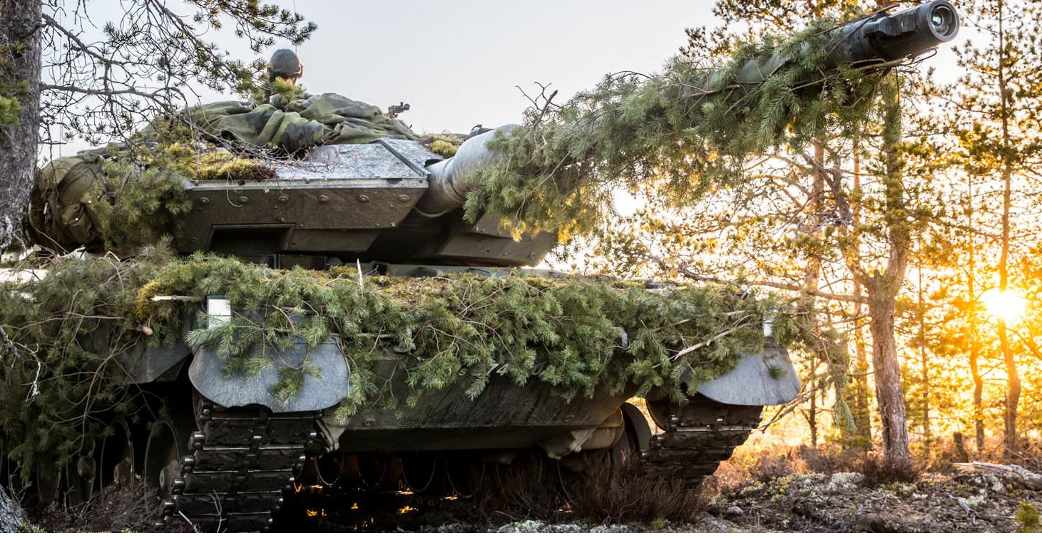 Finnish Defence Forces - Leopard 2A6 Main Battle Tank