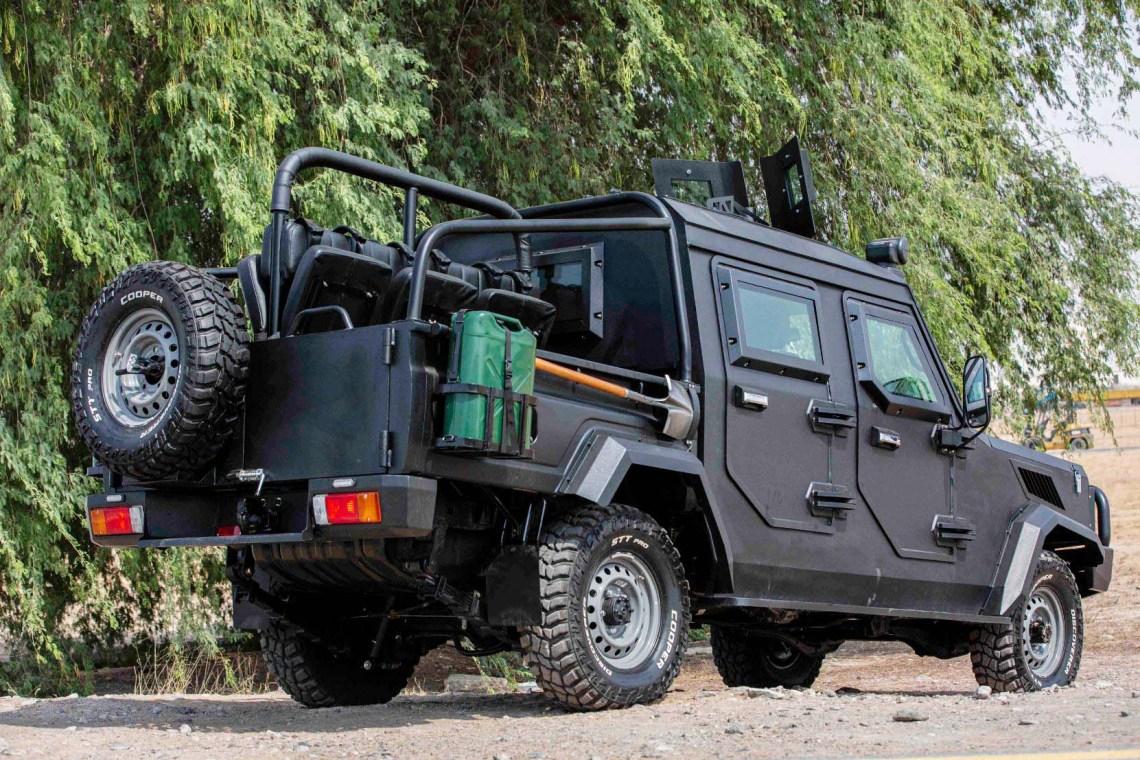 MEVA Armoured Specialist Vehicle (ASV)