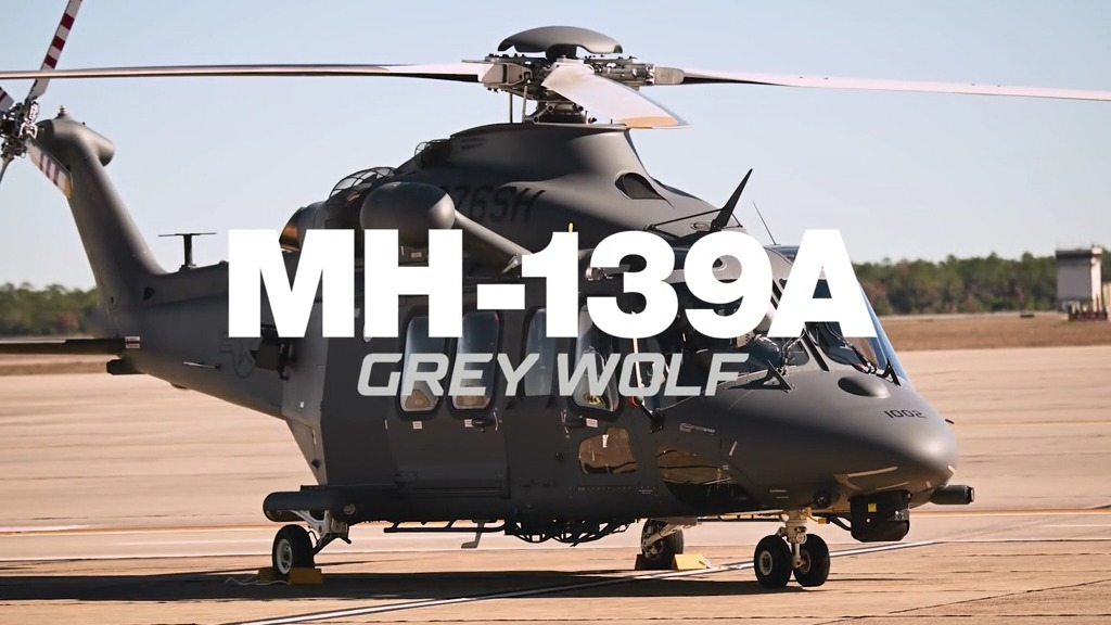 MH-139A Grey Wolf intercontinental ballistic missile base security and support helicopter