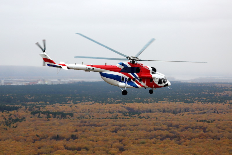 The Mi-171A2 helicopter has been certified by India and Colombia, allowing Russian Helicopters to start exporting the latest modification of the multirole civilian helicopter.