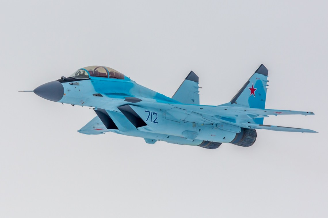 Mikoyan MiG-35 (Fulcrum-F) Russian multirole fighter