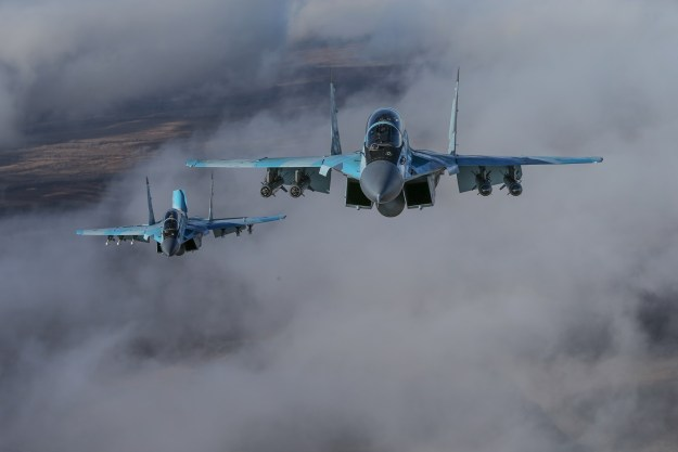 Mikoyan MiG-35 (Fulcrum-F) Russian multirole fighter