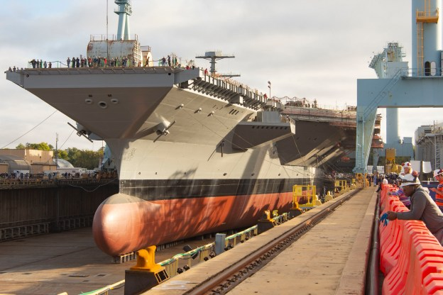 New Gerald R. Ford-Class Aircraft Carrier John F. Kennedy to be Christened Dec. 7