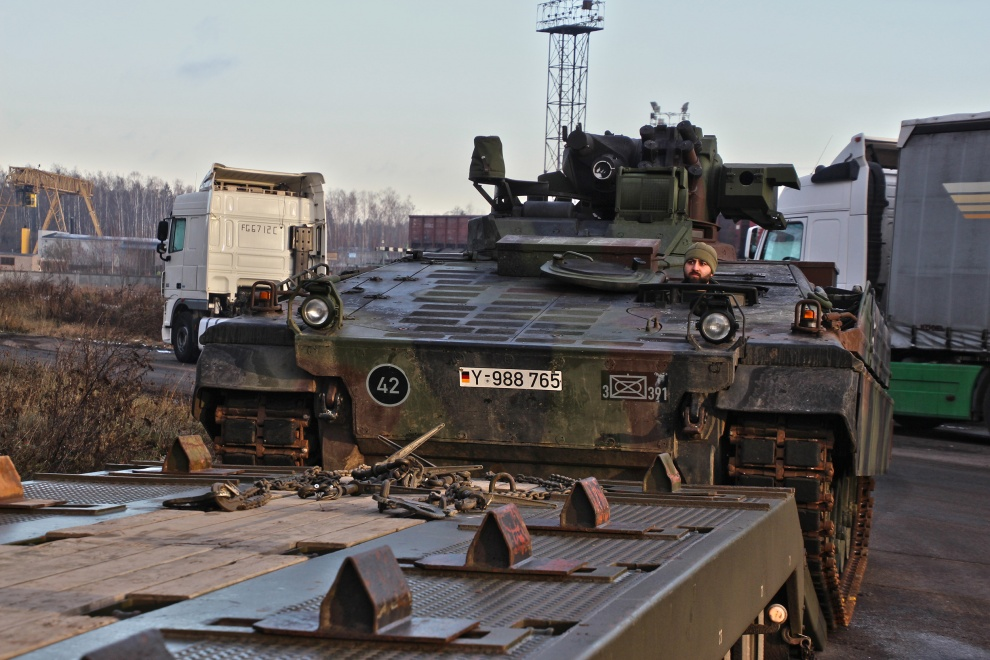 PESCO Military Mobility Procedures Tested in Lithuania