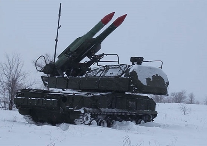 Russian Central Military District Buk-M2 Missile System