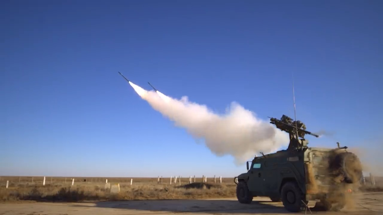 Russian Gibka-S Light Anti-Aircraft System