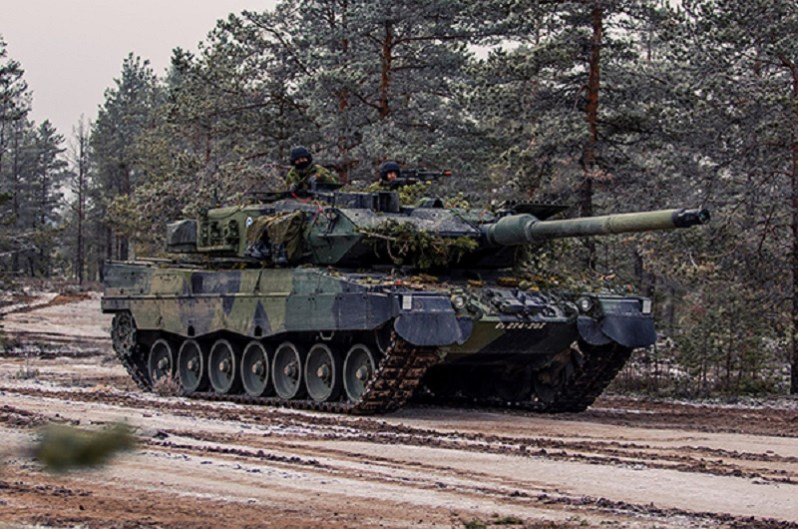Finnish Defence Forces Leopard 2A6
