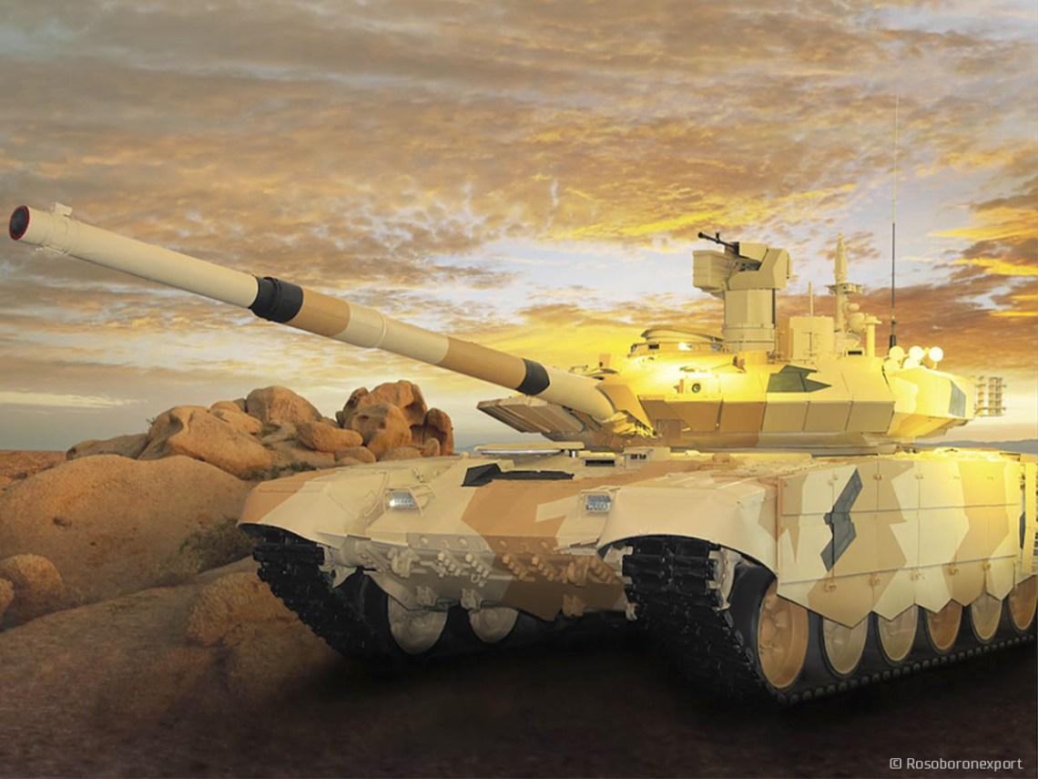T-90M main battle tanks