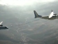 Airbus C295 air-to-air (AAR) tanker flight test