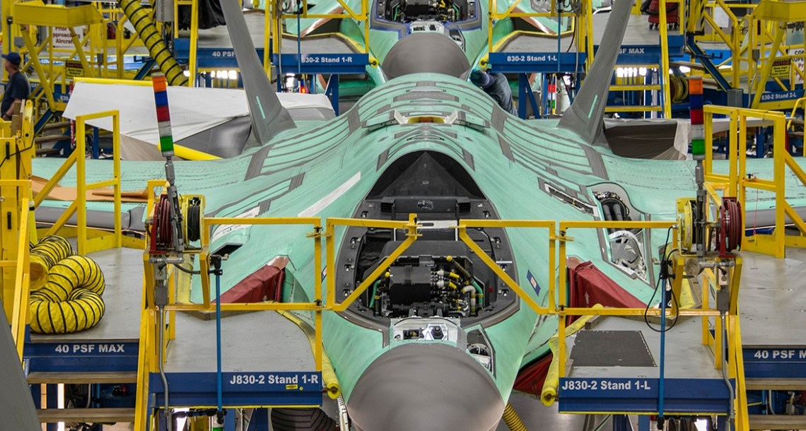 Lockheed Wins $1.9 Bn to Rework Already Delivered F-35 Aircraft