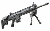 FN SCAR-H PR precision rifle in 7.62×51 mm NATO caliber with fixed buttstock