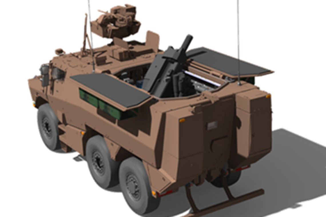 France Orders 120-mm Rifled Recoiled Mounted Mortar Variant of Griffon AFV