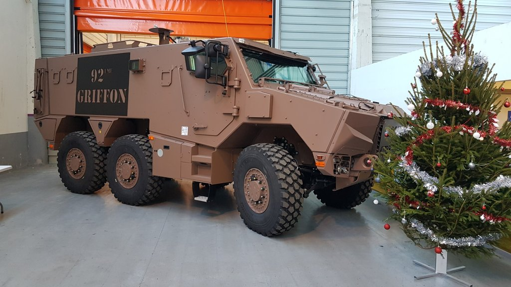 French Army Griffon Armoured Personnel Carrier