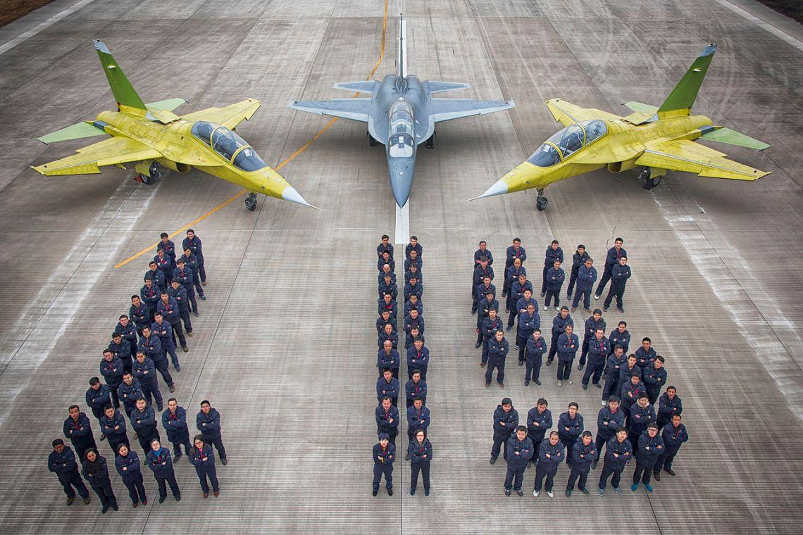 Hongdu L-15 Falcon Supersonic Advanced Trainer and Light Combat