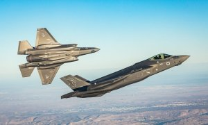 Israeli Air Force F-35I 'Adir' stealth fighter jets