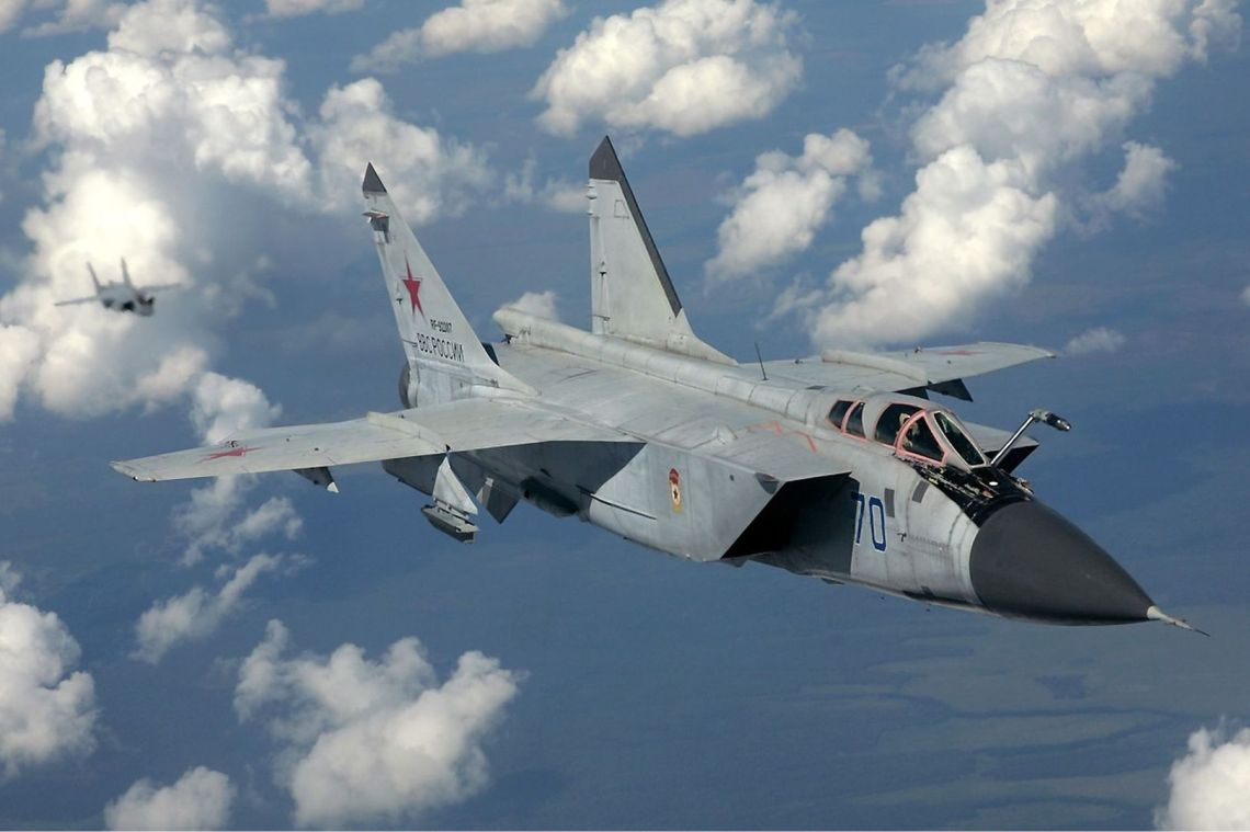 Russian Air Force Receives Upgraded Six MiG-31BM Fighter Jets