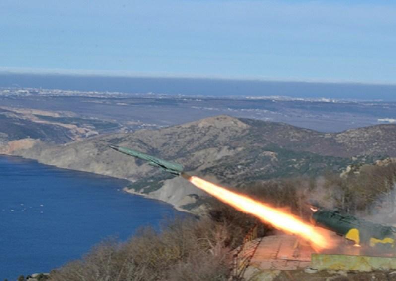 Russian Black Sea Fleet Coastal Missile System Utes