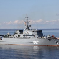 Russian Shipbuilders to Float Out of Minesweeper Yakov Balyayev