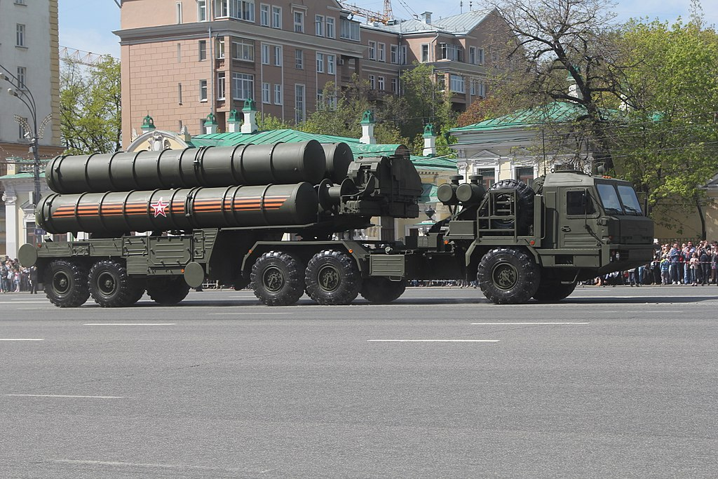 S-400 Triumf Mobile surface-to-air missile