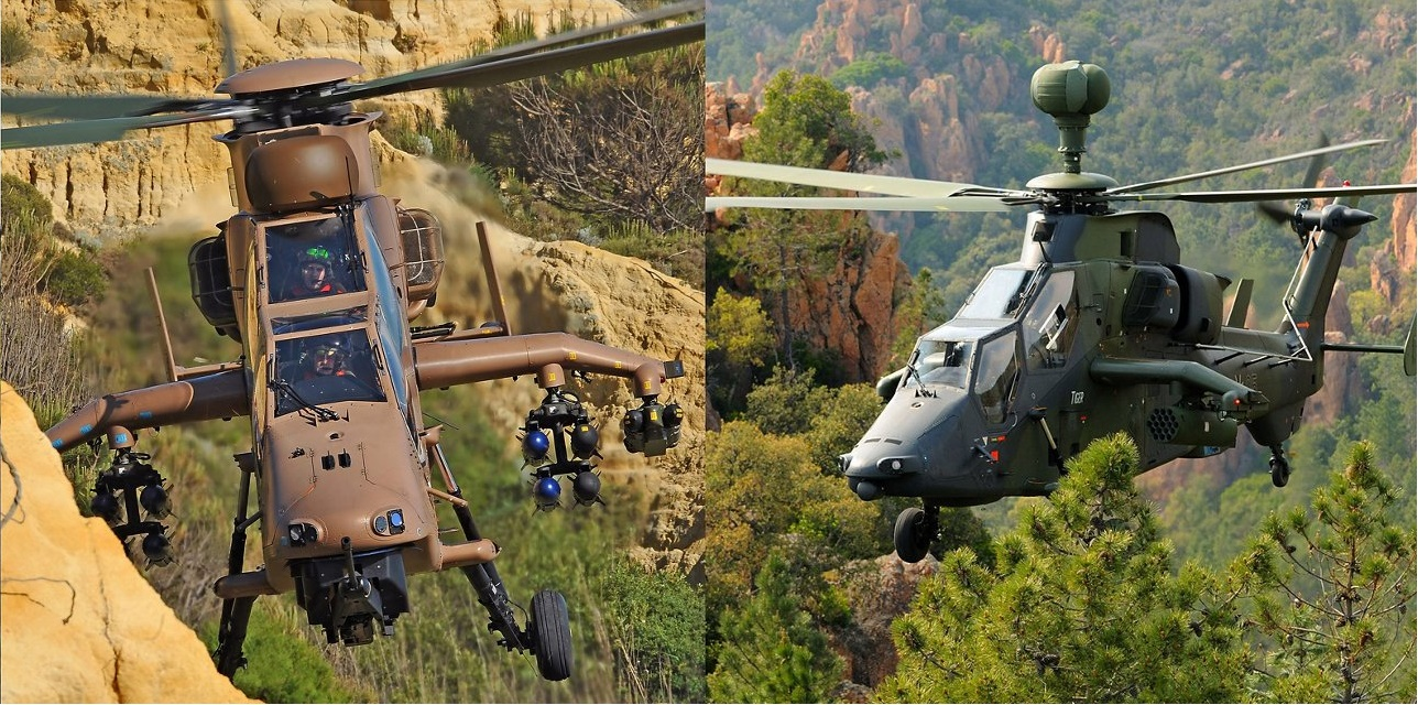 Spanish Army Airbus Tiger HAD Attack Helicopter