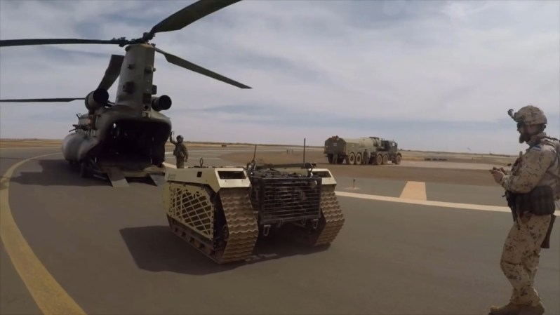 Milrem Robotics THeMIS UGV Takes First Helicopter