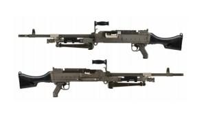 Canadian Army C6A1 FLEX General Purpose Machine Guns
