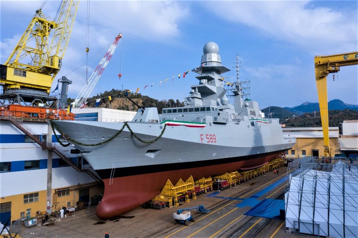 Italian Navy Emilio Bianchi FREMM Frigates
