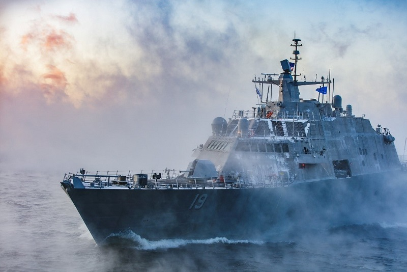 The future USS St. Louis Littoral Combat Ship (LCS) 19 completed Acceptance Trials in Lake Michigan in December.