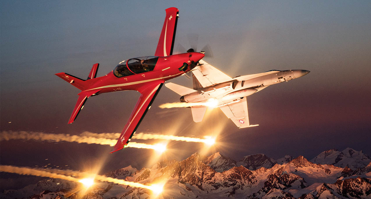 Pilatus PC-21 Single-Engine Turboprop Trainers