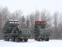 Russian Aerospace Forces Anti-Aircraft Missile System S-350 Vityaz