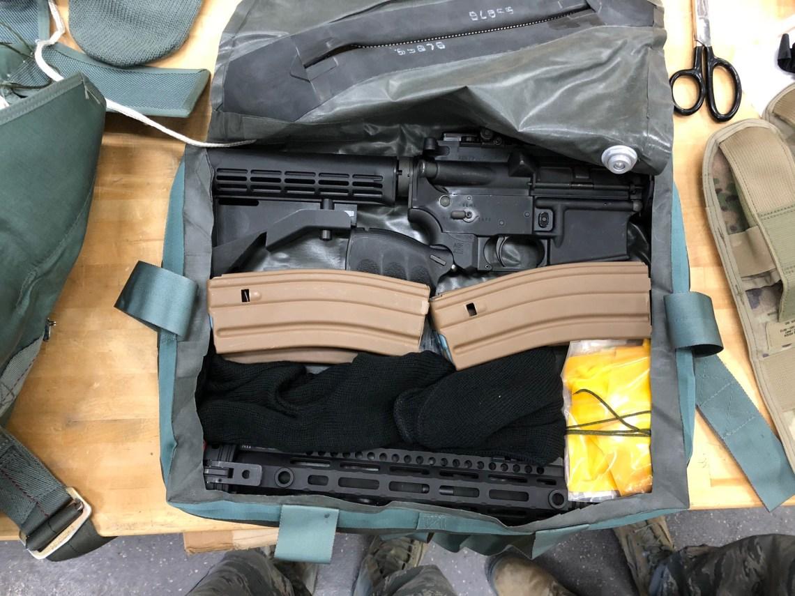 Aircrew Self Defense Weapon (GAU-5A) 5.56 mm caliber rifle
