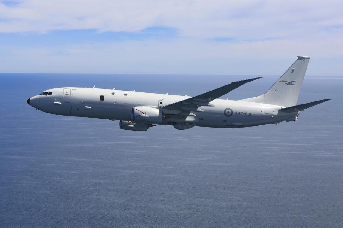 Royal Australian Air Force P-8A Poseidon Maritime Patrol aircraft