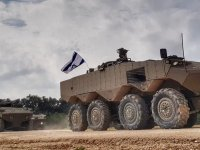 Israel Defense Forces Eitan 8x8 Armored Fighting Vehicle (AFV)