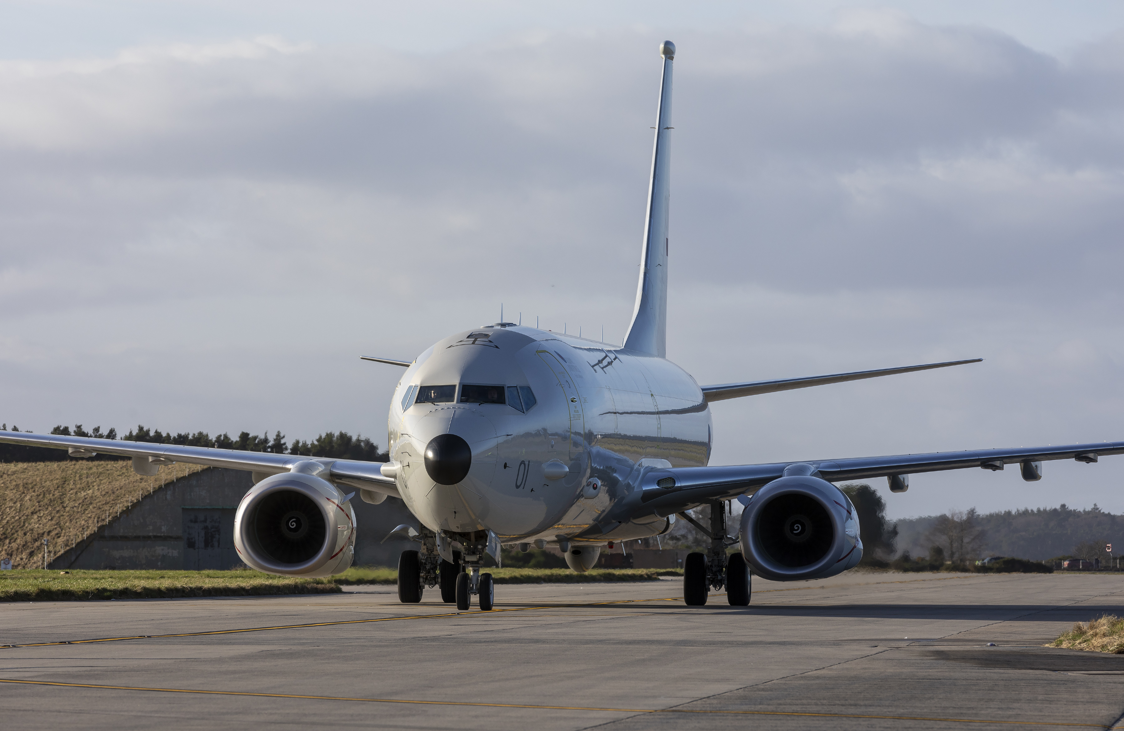 First Royal Air Force P-8 Poseidon MRA1 to Land in Scotland