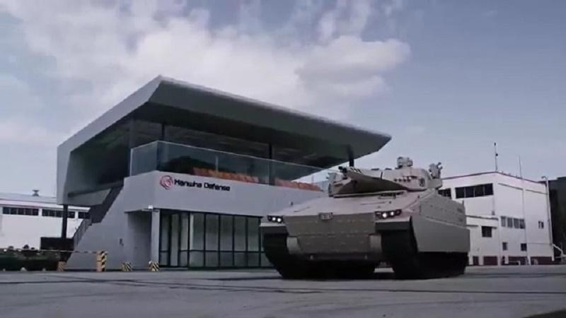 Hanwha Defense AS21 Redback Infantry Fighting Vehicle