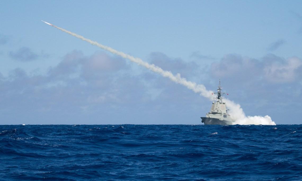 Royal Australian Navy HMAS Hobart (DDG 39) Air Warfare Destroyer