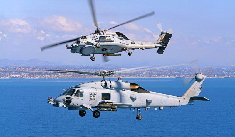 Sikorsky MH-60R SEAHAWK Anti-submarine/Anti-surface Warfare Helicopter