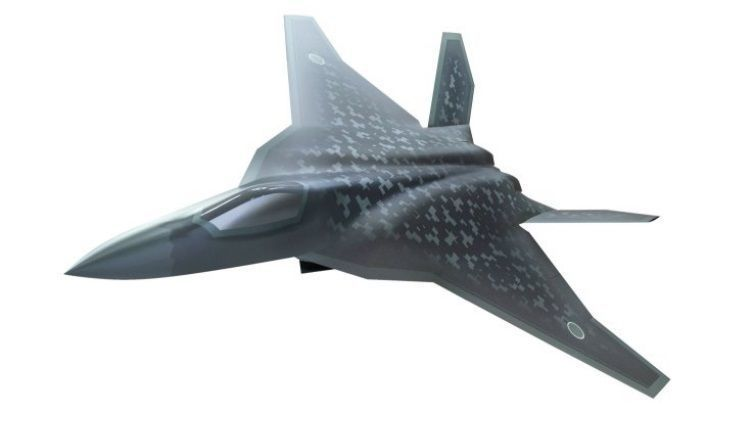 Japan MoD Reveals New Concept for Next-Gen F-X 'Godzilla' Fighter