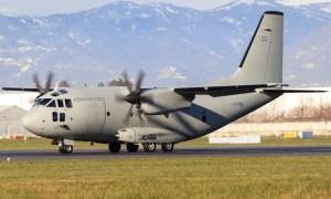 Kenya Air Force C-27J Spartan Military Transport Aircraft