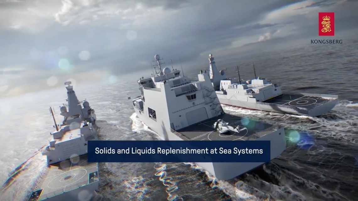 Kongsberg Gruppen Replenishment at SEA-RAS/FAS Systems