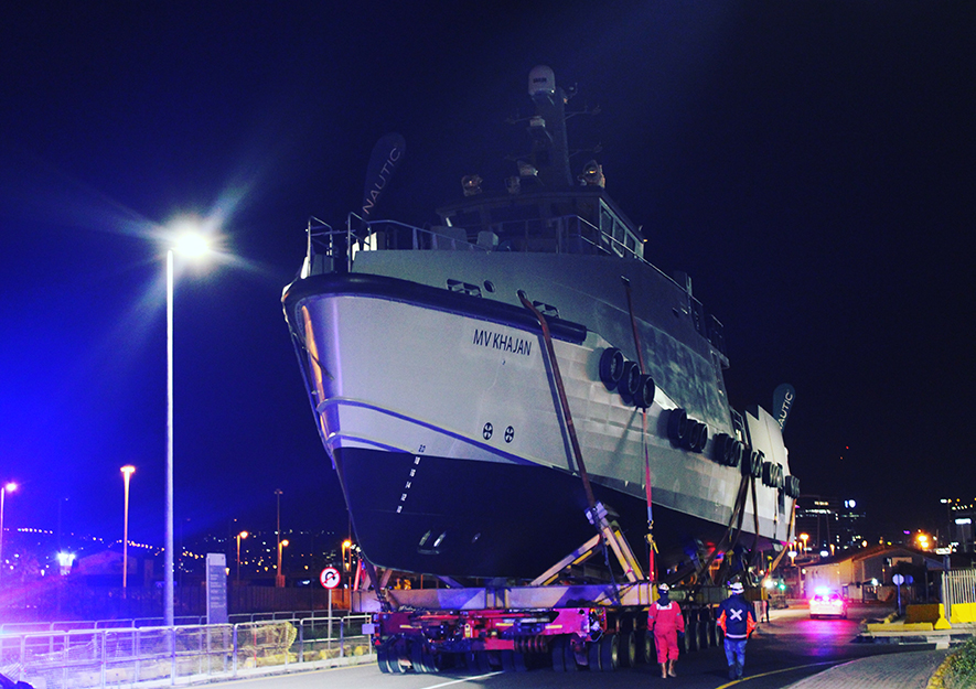 Nautic Africa Launches its Latest Multi Purpose 35m Sentinel Vessel