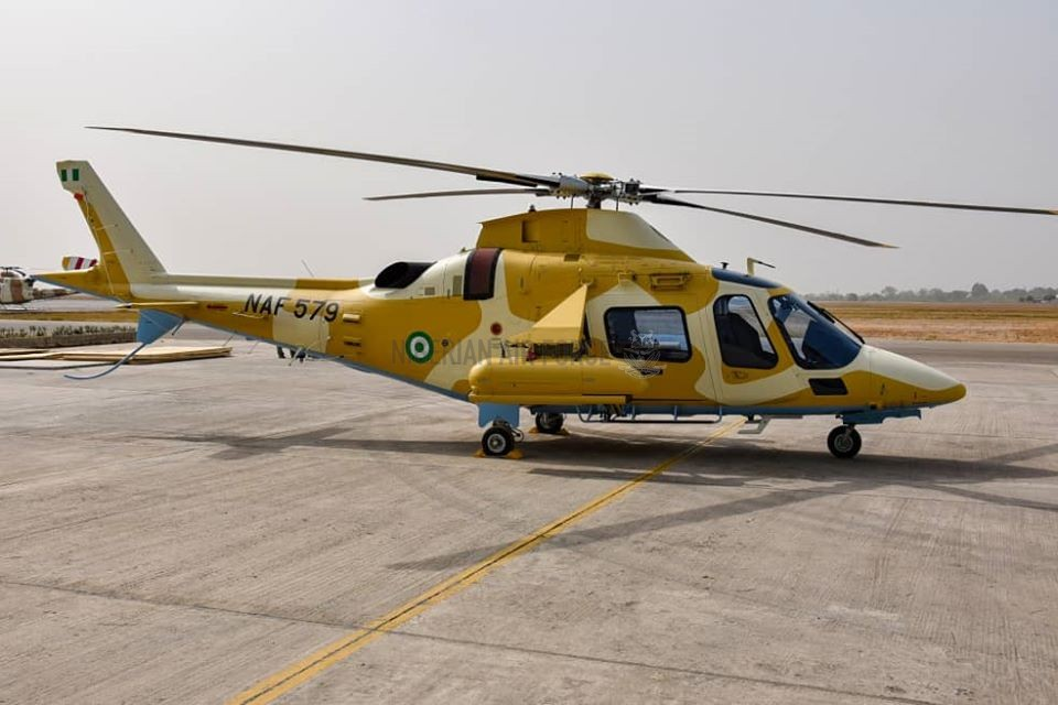 Nigerian Air Force AW109M Helicopter