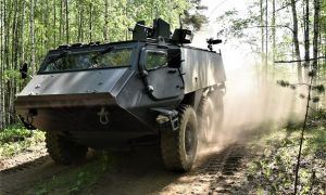 Patria 6X6 Wheeled Armored Vehicle