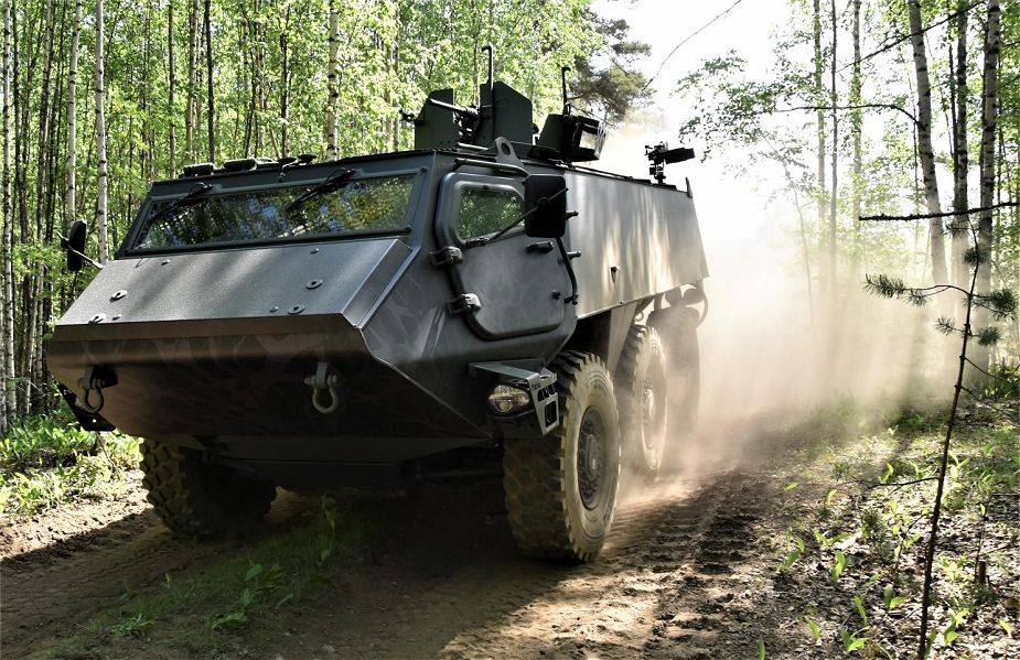 Patria 6X6 Wheeled Armored Vehicle