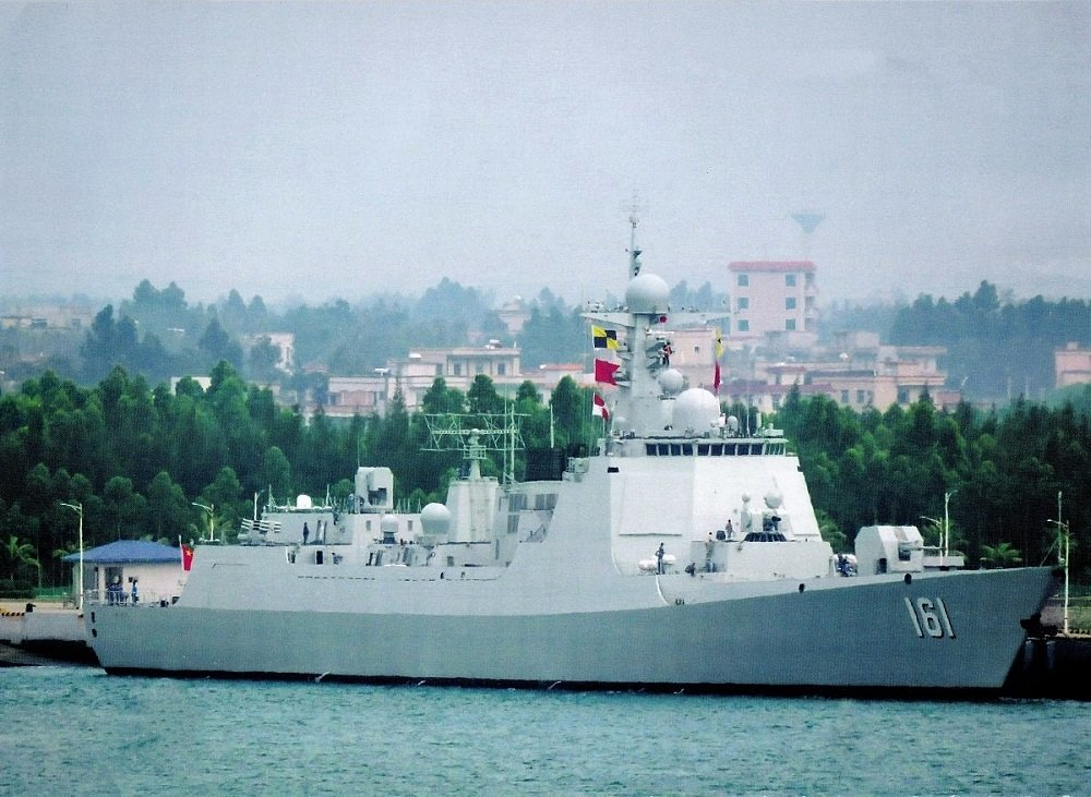 People's Republic of China (PRC) Navy Type 052D Destroyer Hohot (161).
